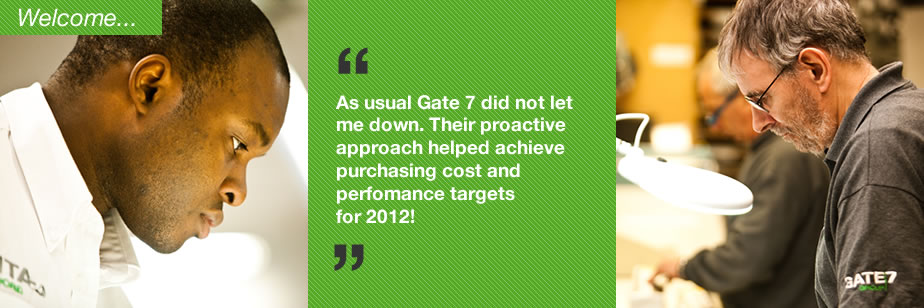The Gate 7 team are friendly and always very professional. Fantastic customer service.